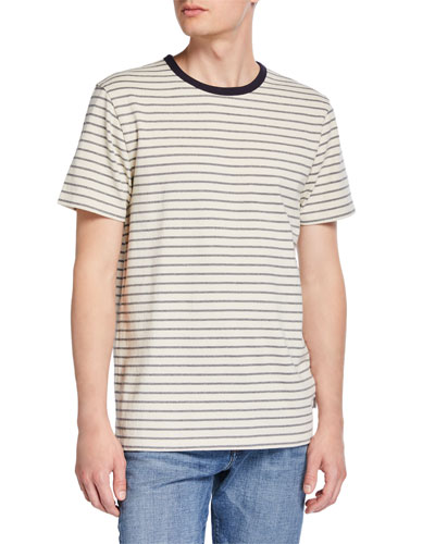 Men's Striped Ringer T-Shirt