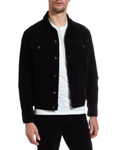 Men's Iconic Corduroy Denim Jacket