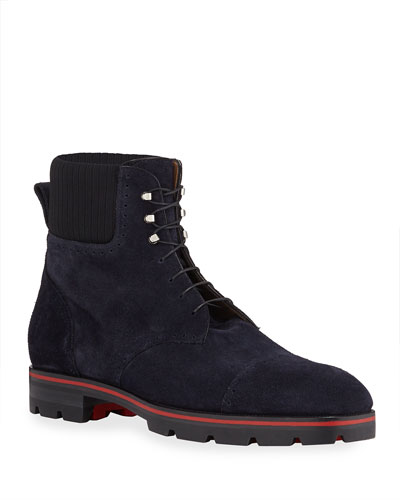 Men's Citycroc 20 Crosta Wax Suede Ankle Boots