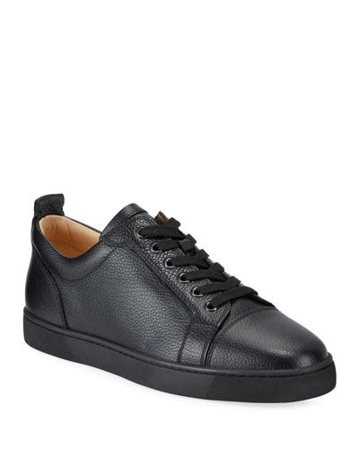 Men's Louis Junior Low-Top Red Sole Sneakers