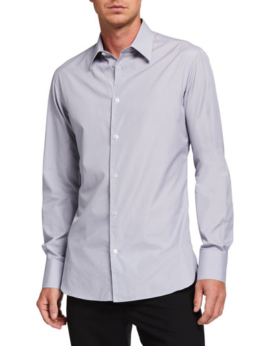 Men's Jasper Solid Cotton Sport Shirt