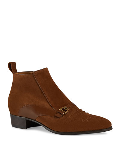 Men's Moloch Suede Ankle Boots