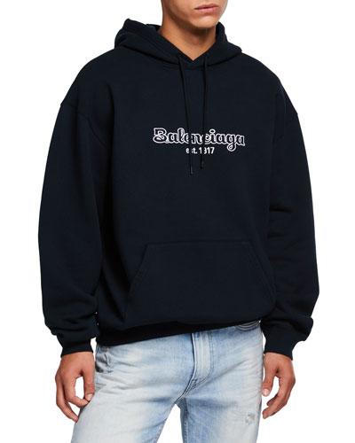 Men's Logo Hoodie Sweatshirt