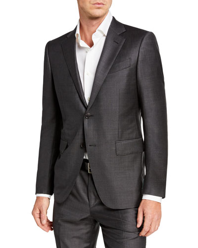 Men's Trofeo Wool Two-Piece Suit