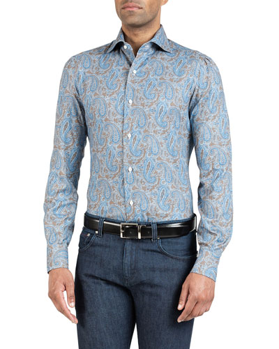 Men's Paisley Sport Shirt