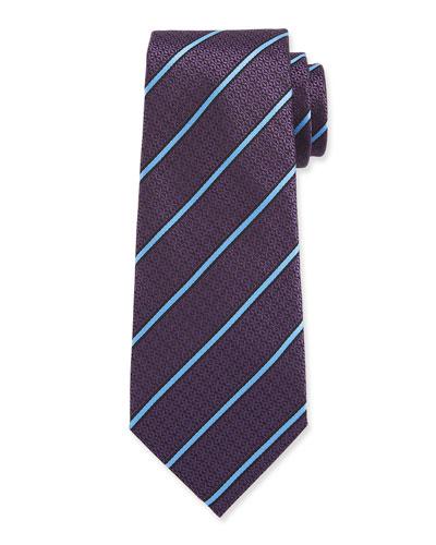 Men's Textured Stripe Tie