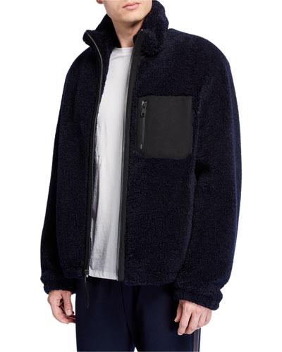 Men's Sherpa Zip-Up Jacket