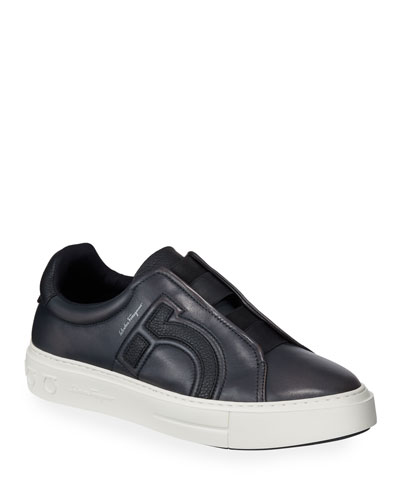 Men's Tasko Slip-On Leather Sneakers
