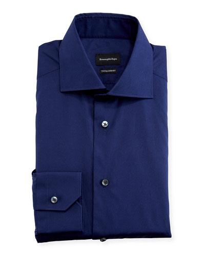 Men's Trofeo Comfort Solid Regular-Fit Dress Shirt