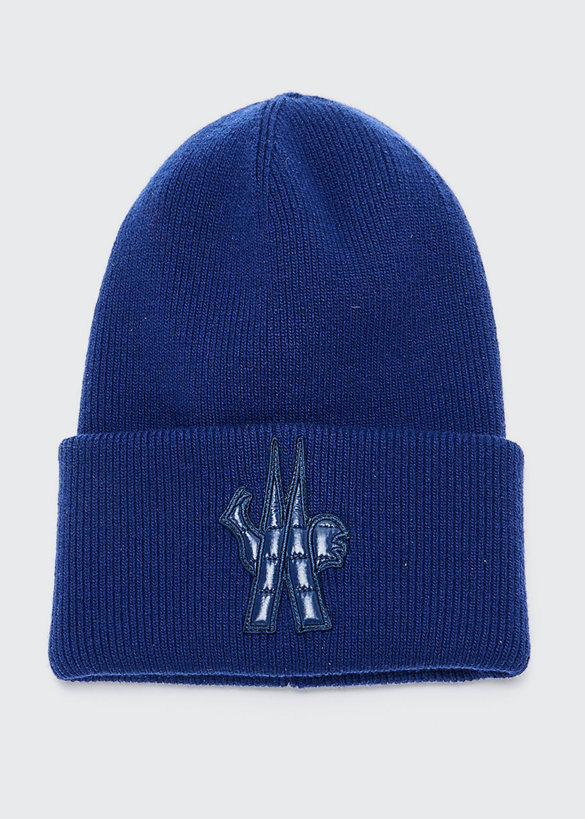 Moncler Hats MEN'S BERRETTO RIB-KNIT BEANIE HAT
