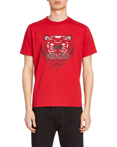 Men's Tiger Graphic T-Shirt