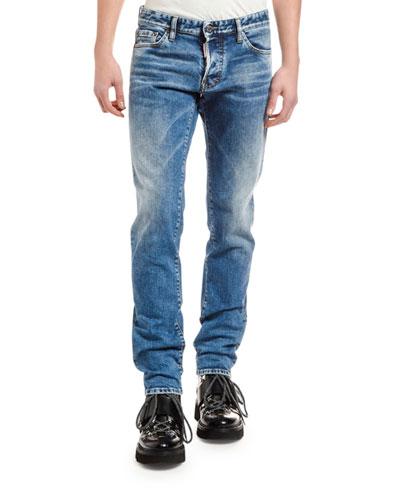 Men's Clean Slim Jeans