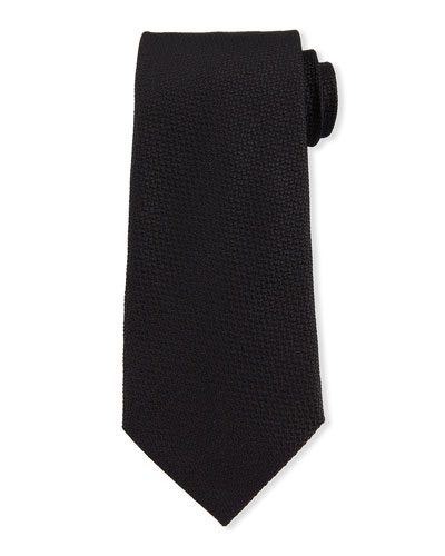 Pebble Weave Silk Tie