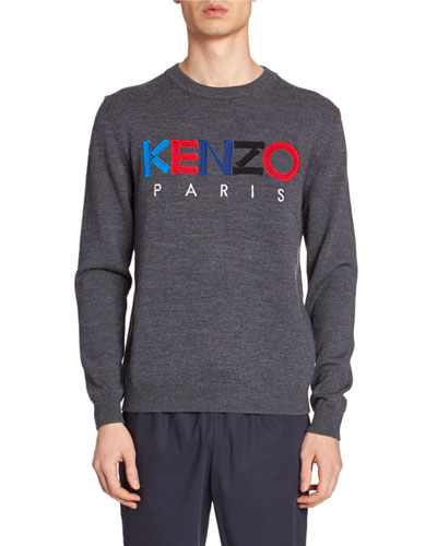 Men's Embroidered Logo Sweater