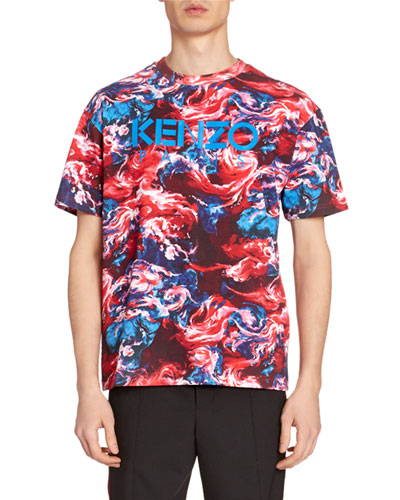 Men's Painted Graphic T-Shirt