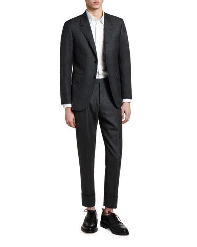 Men's Wool Two-Piece Suit