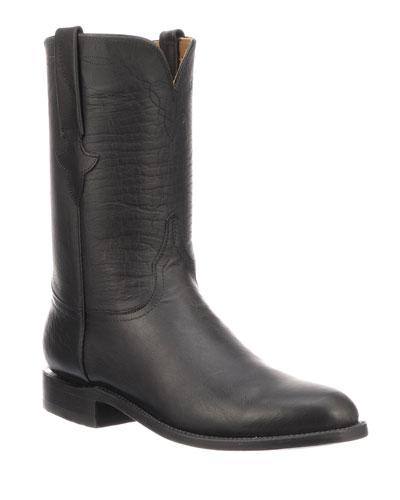 Men's Bannock Leather Cowboy Boots