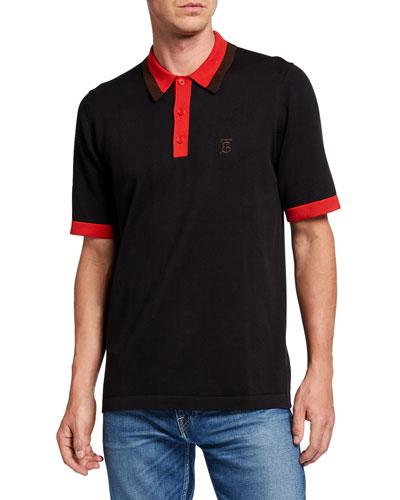 Men's Camford Polo Shirt, Black