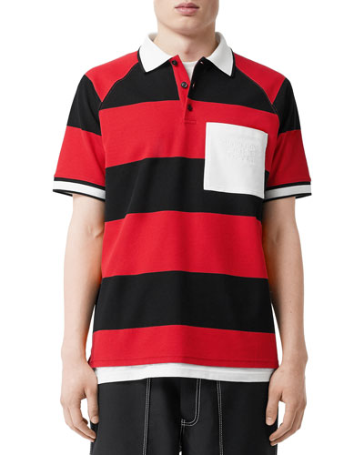 Men's Barley Striped Polo Shirt