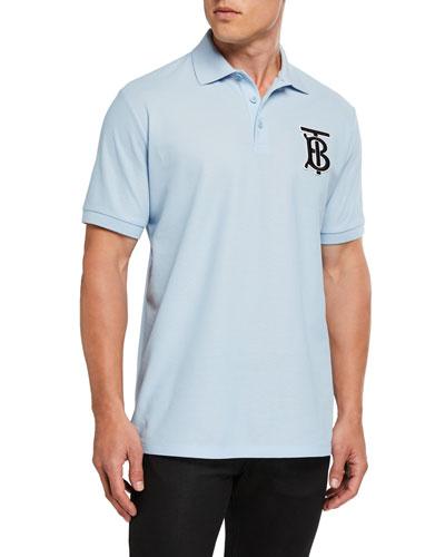 Men's Warren TB Logo Polo Shirt