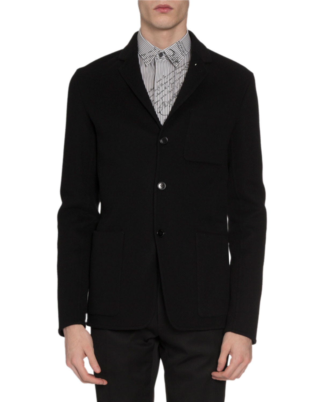 Berluti Jackets MEN'S BUTTON-FRONT CASHMERE JACKET