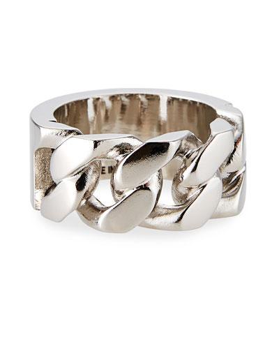 Men's Identity Chain Ring
