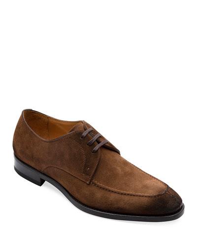 Men's Lars Split-Toe Suede Derby Shoes