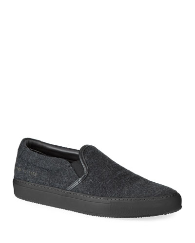 Men's Wool Slip-On Sneakers