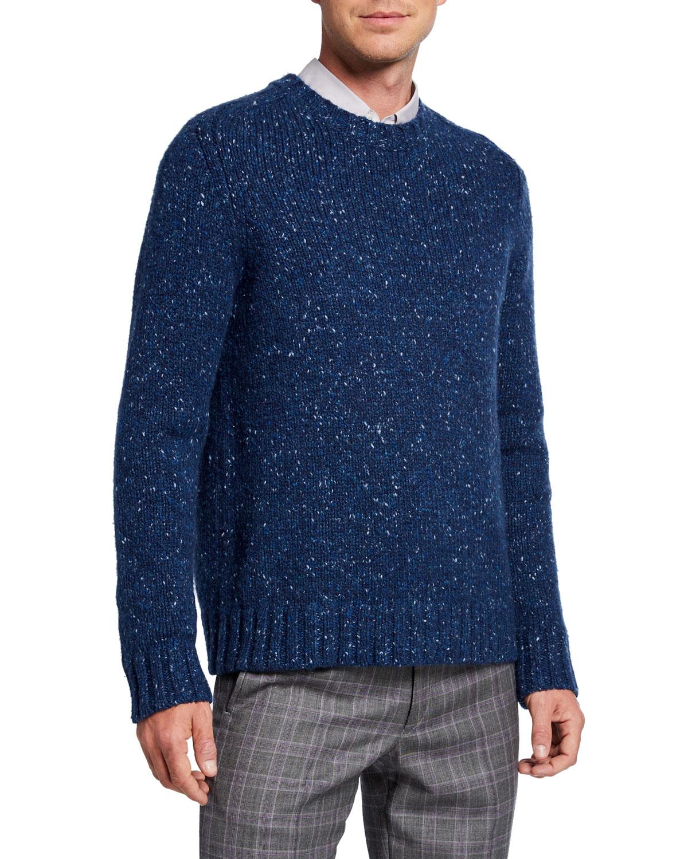 Gabriela Hearst Sweaters MEN'S JUAN DONEGAL CASHMERE SWEATER