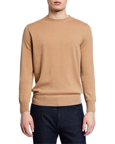 Men's Premium Cashmere Crewneck Sweater