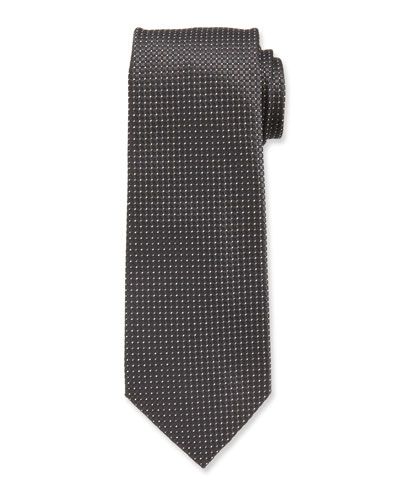 TOM FORD Patterned Green Tie In Silk CL