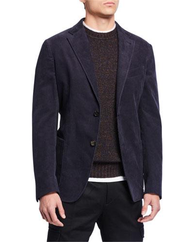 Men's Sea Island Cotton Corduroy Jacket