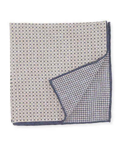 Reversible Mixed Mini Pattern Pocket Square