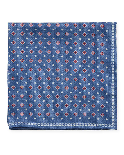 Double-Face Printed Pocket Square