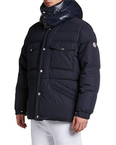Men's Vilbert Hooded Puffer Coat
