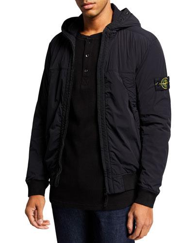 Men's Hooded Comfort Jacket