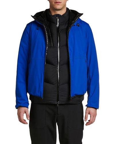 Men's Duport Two-Tone Jacket