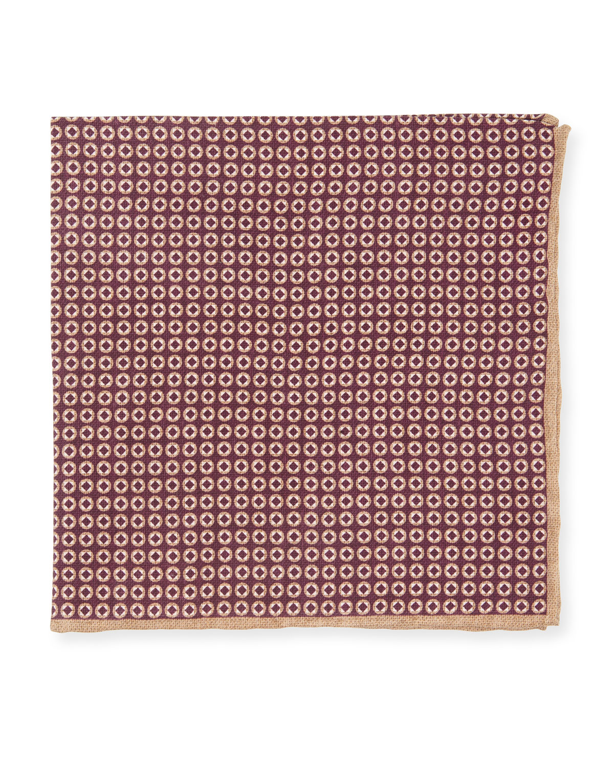 Brunello Cucinelli Accessories MEDALLION POCKET SQUARE