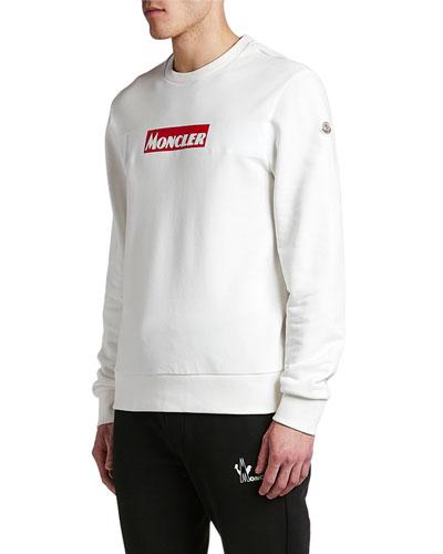 Men's Long-Sleeve Logo Stamp Shirt