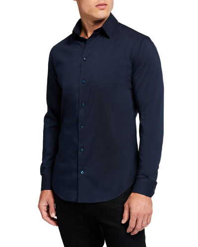 Men's Basic Sport Shirt, Navy