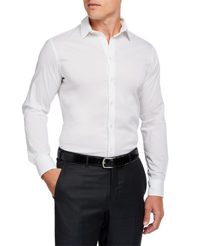 Men's Basic Sport Shirt, White