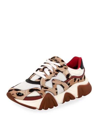 Men's Squalo Printed Sneakers