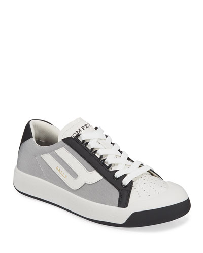 Men's New Competition Mesh & Leather Sneakers