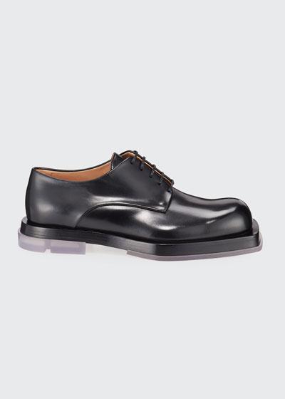 Men's Lennon Platform Leather Derby Shoes