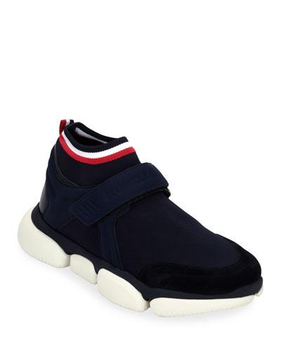 Men's Barnie Grip-Strap Sneakers