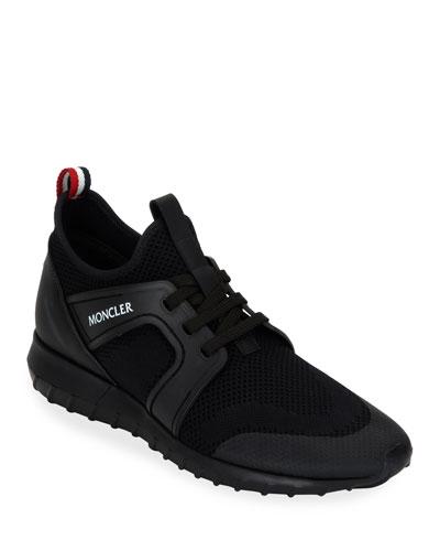 Men's Emilien Knit Stretch-Sock Sneakers