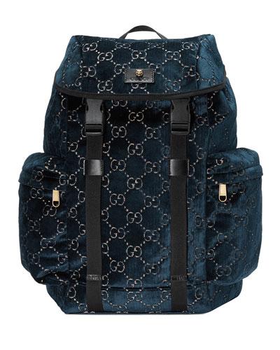 Men's GG Velvet Backpack