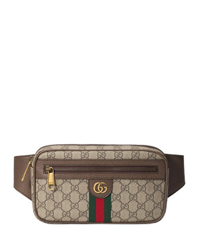 Men's GG Web Belt Bag