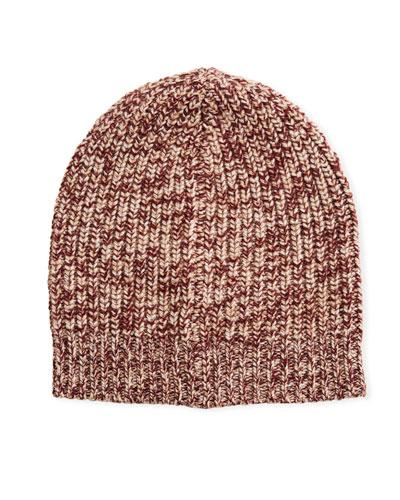 Men's Cashmere Knit Beanie Hat