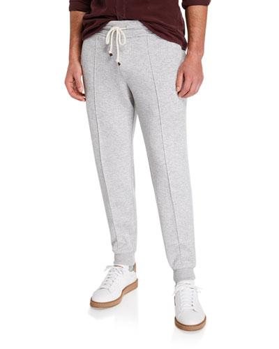 Men's Cashmere-Blend Spa Jogger Pants